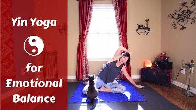 Yin Yoga for Emotional Balance