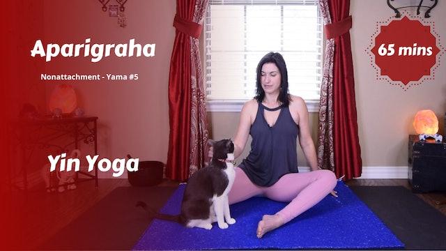 {Y}integration Yin Yoga | Aparigraha | Nonattachment