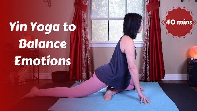 Yin Yoga to Balance Emotions | Pericardium Meridian