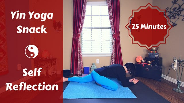 Yin Yoga Snack to Turn Inward & Soften | New Moon Practice