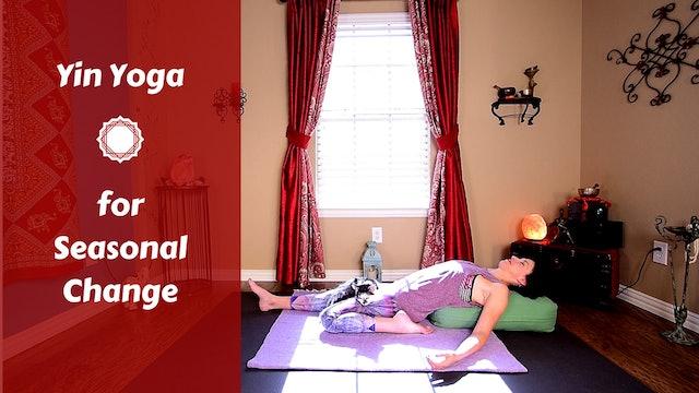 Yin Yoga for Seasonal Transition