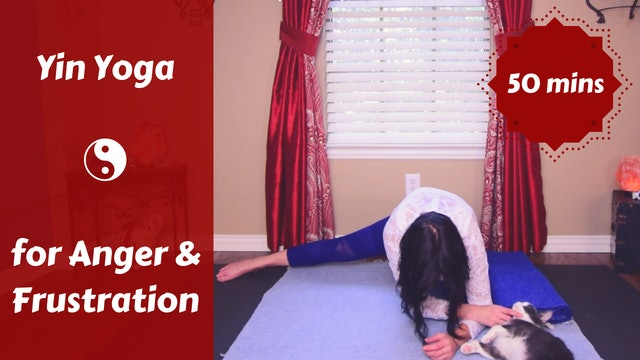 Yin Yoga for Anger & Frustration | Liver Meridian
