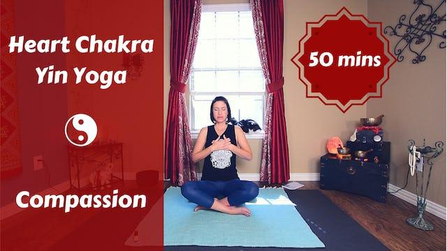 Heart Chakra Yin Yoga | Compassion