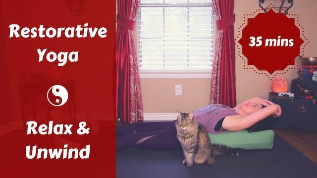 Restorative Yoga to Relax & Unwind | ...