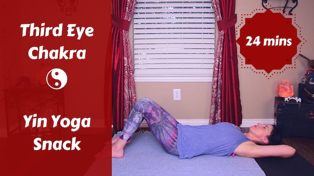 Third Eye Yin Yoga Snack