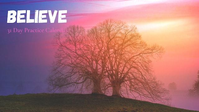 BELIEVE Journal Prompts