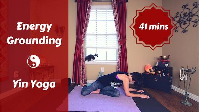 Energy Grounding Yin Yoga | Root Chakra Focus