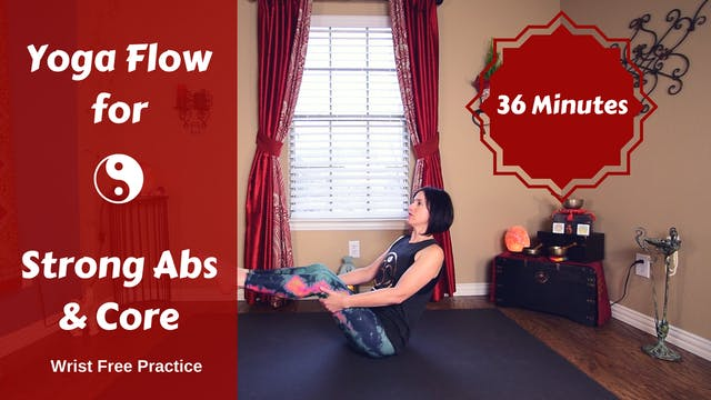 Slow Flow Yoga for Total Core & Ab St...