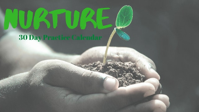 NURTURE Practice Calendar | Sept. '20