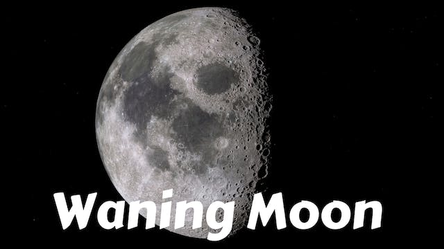 Waning Moon Yoga