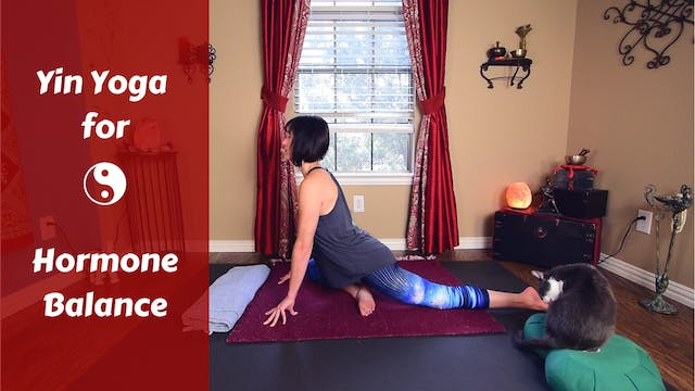 Yin Yoga for Hormone Health & Adrenal...