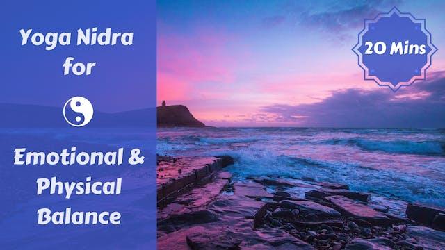 Yoga Nidra for Balance & Acceptance
