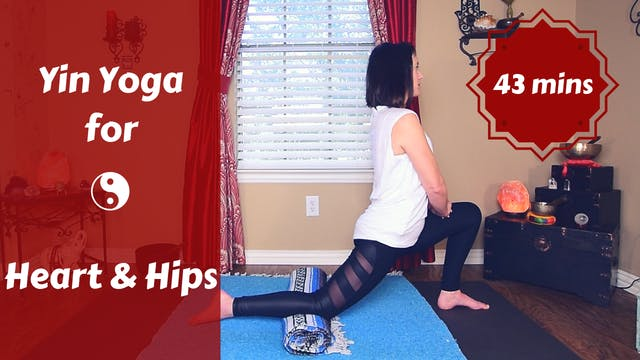 Yin Yoga Heart & Hips | Full Body Yin...