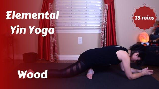 Elemental Wood Yin Yoga Snack