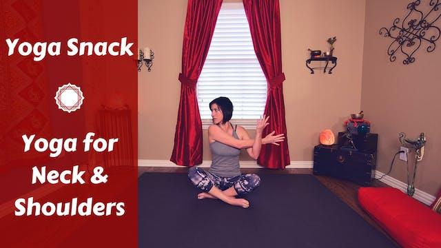 Yoga Snack for Neck & Shoulder Pain R...