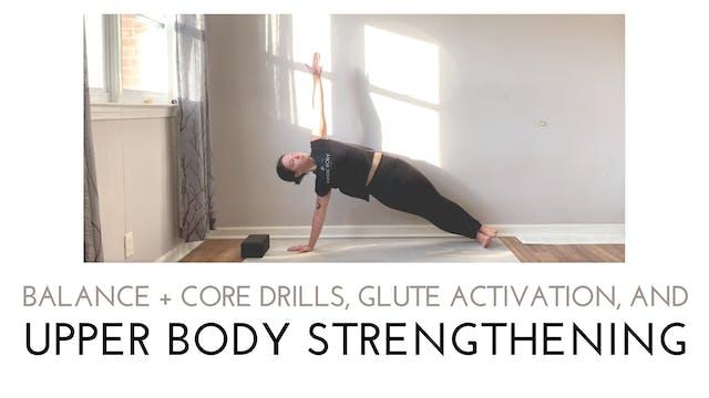 Balance and Core Drills, Glute Activa...