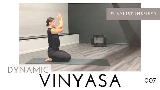 Dynamic Vinyasa 007 | Minimal Cues, Minimal Chaturanga