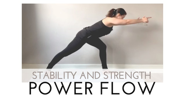 Stability and Strength Power Flow