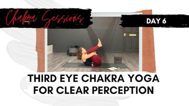 Day 6 | Third Eye Chakra Yoga for Clear Perception