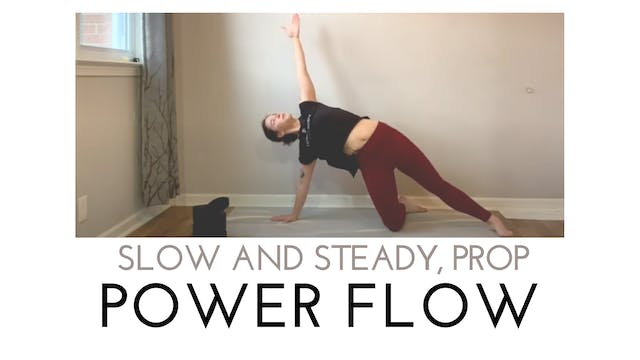 Slow and Steady Prop Power Flow