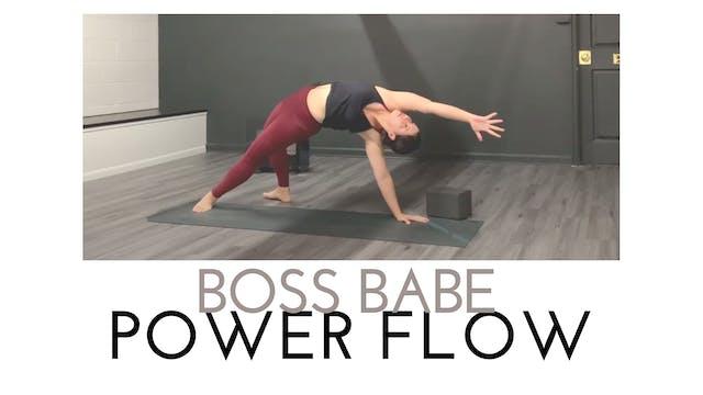 Boss Babe Power Flow