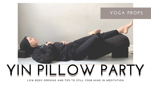 Yin Yoga Pillow Party