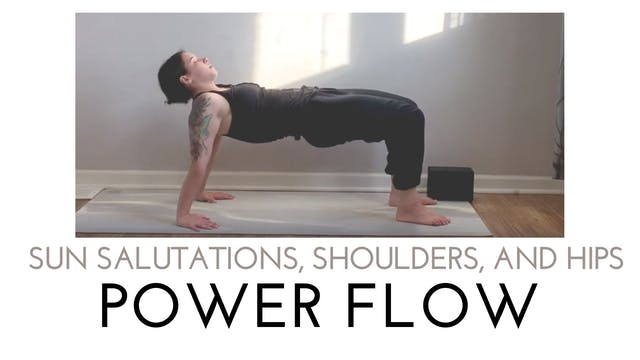 Sun Salutations, Shoulders, and Hips ...