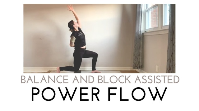 Balance and Block Assisted Power Flow