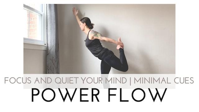 Focus and Quiet Your Mind | Minimal Cues Power Flow