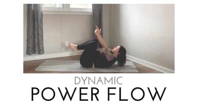 Dynamic Power Flow