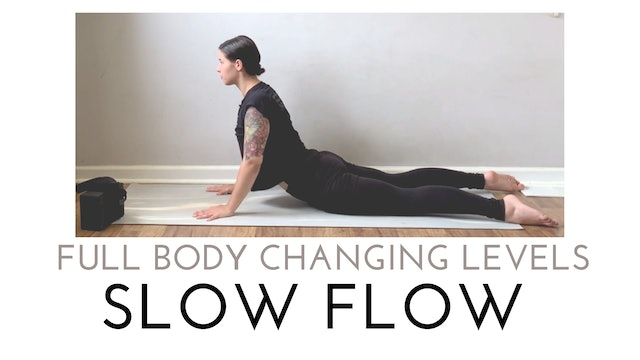 Full Body Changing Levels Slow Flow