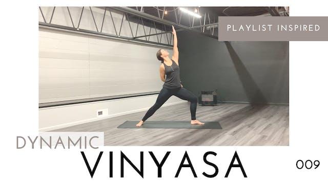 Dynamic Vinyasa 009 | Minimal Cues, B...