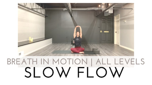 Breath in Motion   All Levels Slow Flow