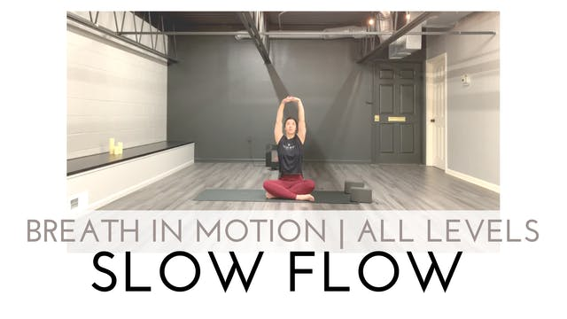 Breath in Motion | All Levels Slow Flow