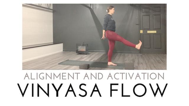 Alignment and Activation Vinyasa Flow