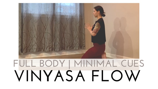 Full Body   Minimal Cues Vinyasa Flow