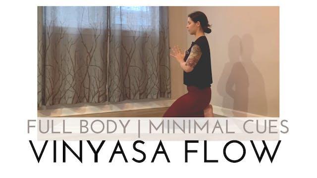 Full Body | Minimal Cues Vinyasa Flow