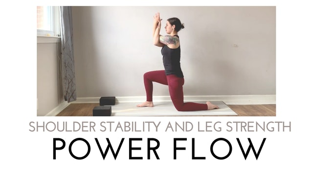 Shoulder Stability and Leg Strength Power Flow