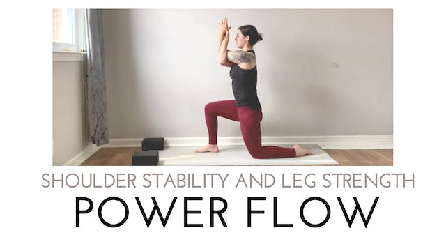 Shoulder Stability and Leg Strength P...