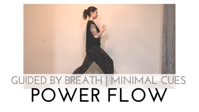 Guided by Breath | Minimal Cues Power Flow