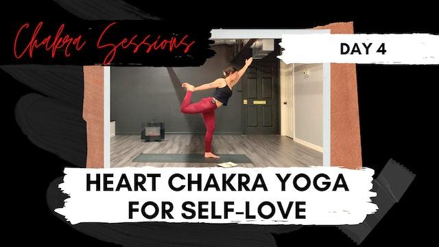 Day 4 | Heart Chakra Yoga for Self Love