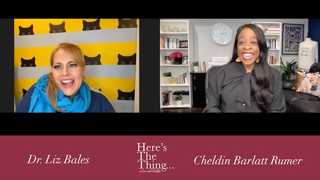 Here's The Thing...Liz and Cheldin on This is it TV