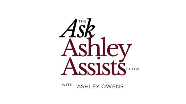 Ask Ashley - Who Are You Virtually Networking With?