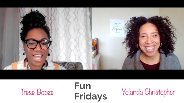 Fun Friday with Yolanda Christopher