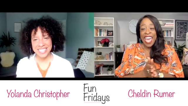 Fun Fridays with Yolanda Christopher