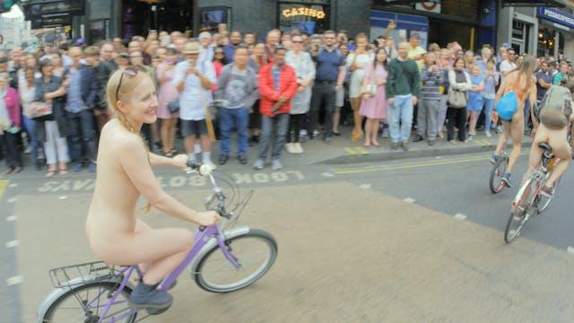 LONDON WORLD NAKED BIKE RIDE 2018