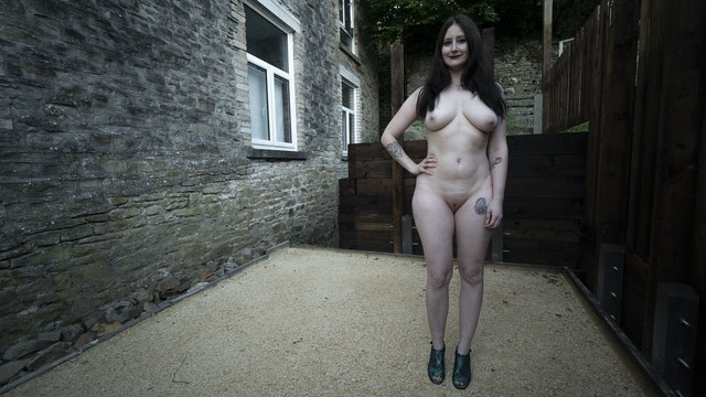 NAKED AND PROUD