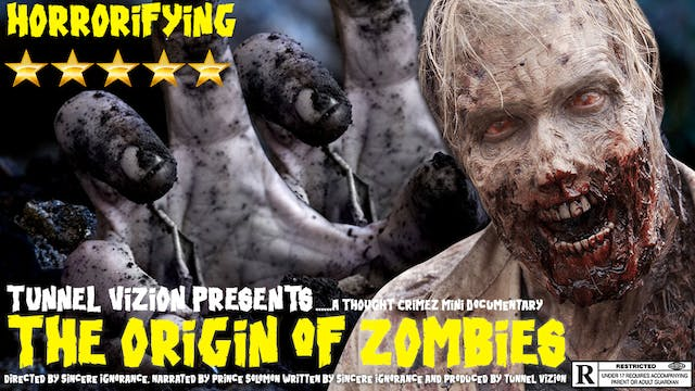 The Origin of Zombies Beyond the Lens