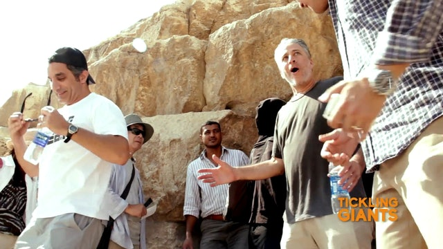 Extra Jon at Pyramids