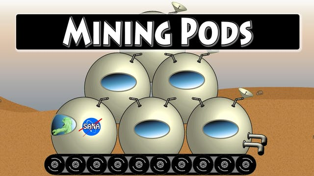 Spell the Mars Pods Part 1